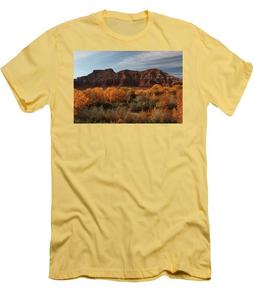 Fall Colors Near Zion Men's T-Shirt (Athletic Fit)
