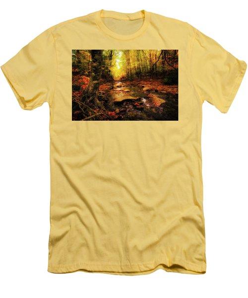 Fall Dreams Men's T-Shirt (Slim Fit) by Robert Clifford