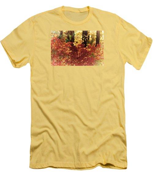 Fall Men's T-Shirt (Slim Fit) by Loni Collins
