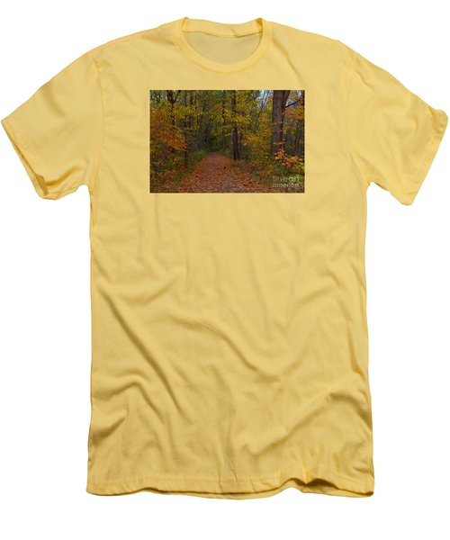Falls Park Woods In Pendleton Men's T-Shirt (Athletic Fit)