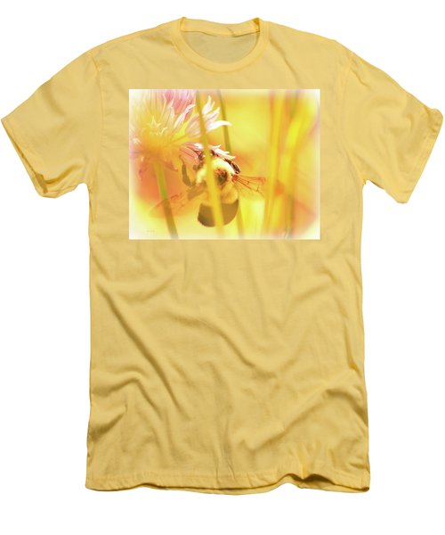 Fame Is A Bee Men's T-Shirt (Slim Fit) by Bob Orsillo