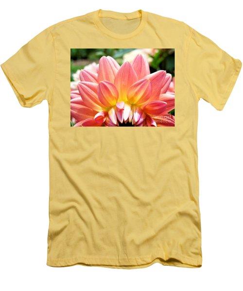 Fanned Out Petals Men's T-Shirt (Athletic Fit)