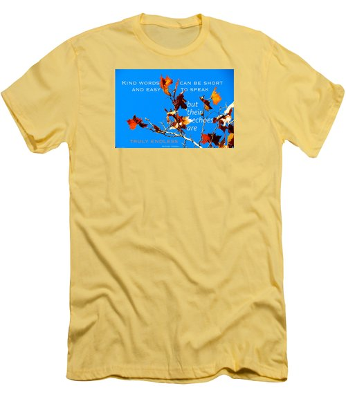 Men's T-Shirt (Slim Fit) featuring the photograph Farthest Reach by David Norman