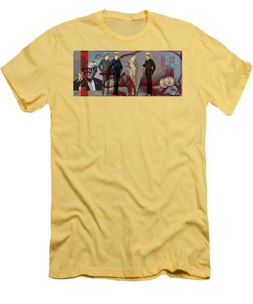 Fat Necks Men's T-Shirt (Slim Fit) by Nop Briex