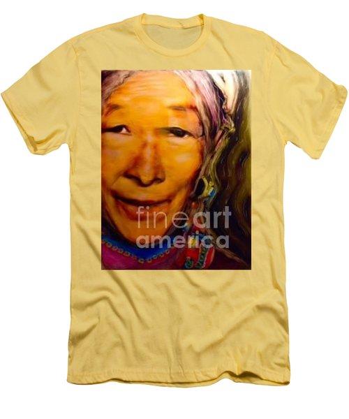 Feeling Light Within We Walk Men's T-Shirt (Slim Fit) by FeatherStone Studio Julie A Miller