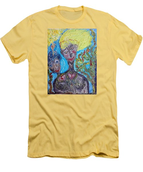 Feelings. Men's T-Shirt (Athletic Fit)