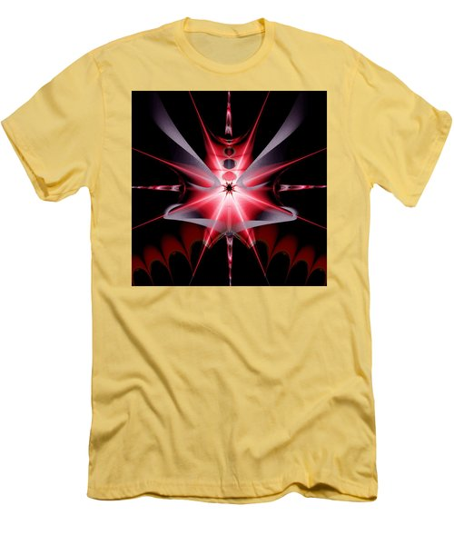 Feelings Love At First Sight Men's T-Shirt (Slim Fit) by Andrew Penman