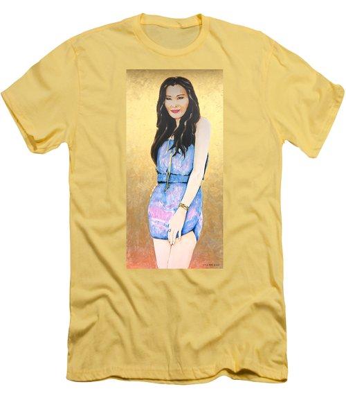 Felicia Lim Men's T-Shirt (Athletic Fit)