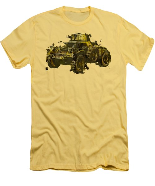 Ferret Scout Car Men's T-Shirt (Athletic Fit)
