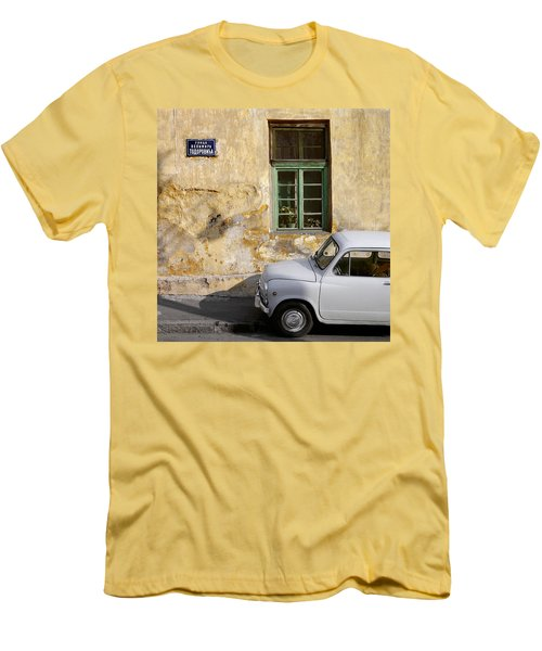 Fiat 600. Belgrade. Serbia Men's T-Shirt (Athletic Fit)