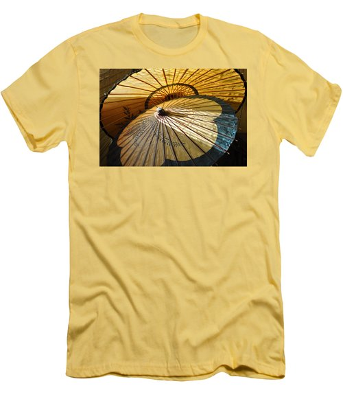 Filtered Light Men's T-Shirt (Slim Fit) by Jan Amiss Photography