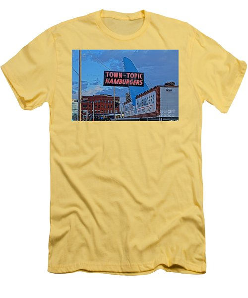 Fine Dinning Men's T-Shirt (Athletic Fit)