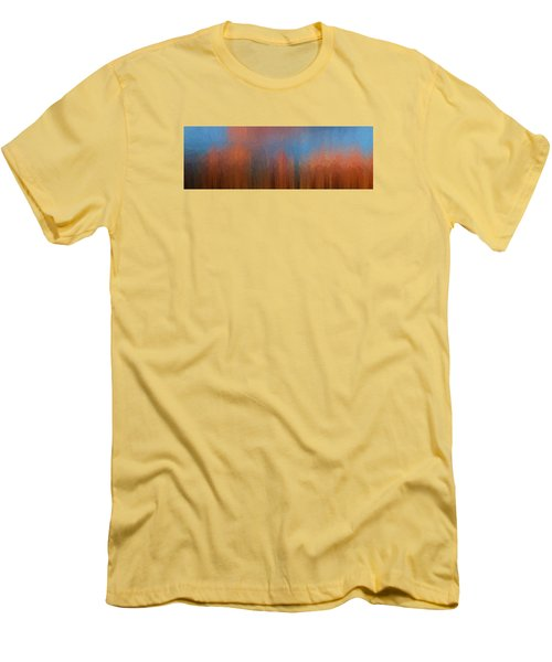 Men's T-Shirt (Slim Fit) featuring the photograph Fire And Ice by Ken Smith