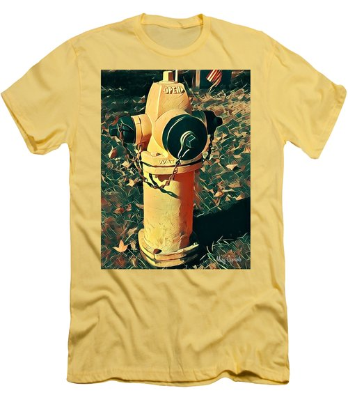 Fire Hydrant Men's T-Shirt (Athletic Fit)