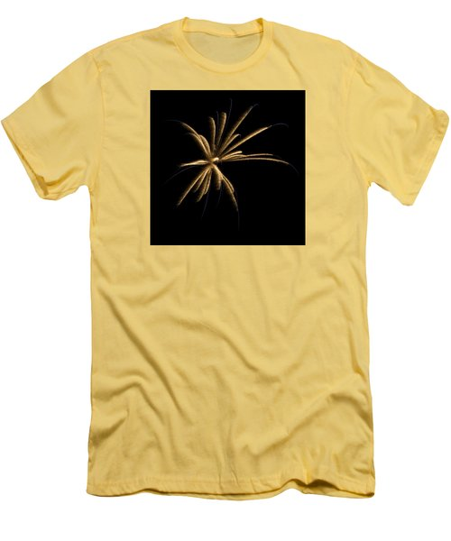 Fireworks 1 Men's T-Shirt (Slim Fit) by Ellery Russell