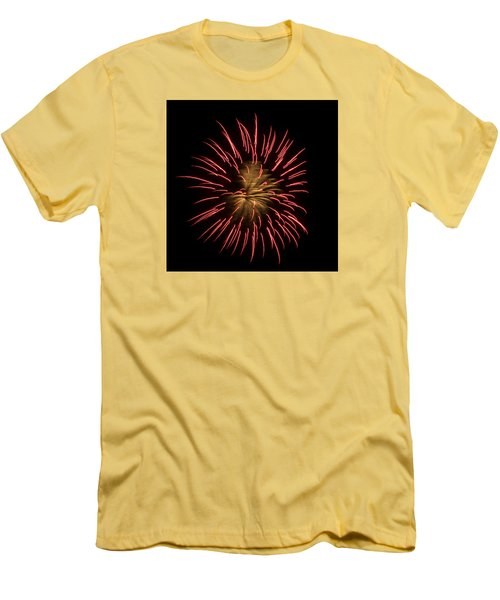 Fireworks 2 Men's T-Shirt (Slim Fit) by Ellery Russell