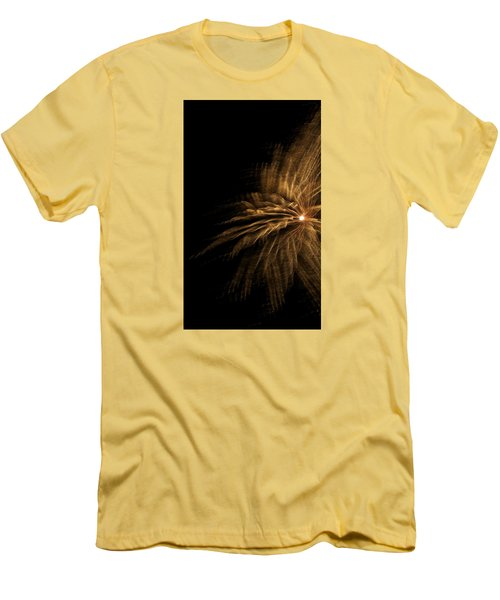 Fireworks 5 Men's T-Shirt (Slim Fit) by Ellery Russell