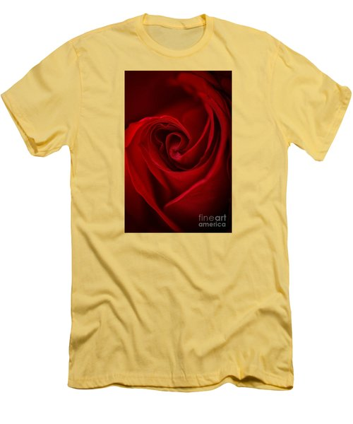 Flame Men's T-Shirt (Slim Fit) by Amy Porter
