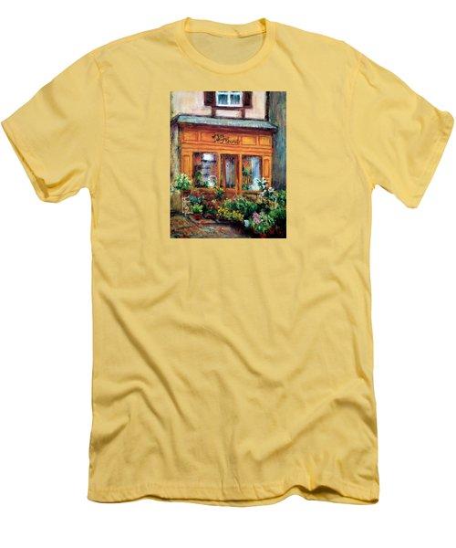 Fleurs Men's T-Shirt (Slim Fit) by Jill Musser