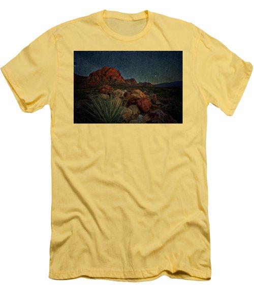 flight AM Men's T-Shirt (Slim Fit) by Mark Ross