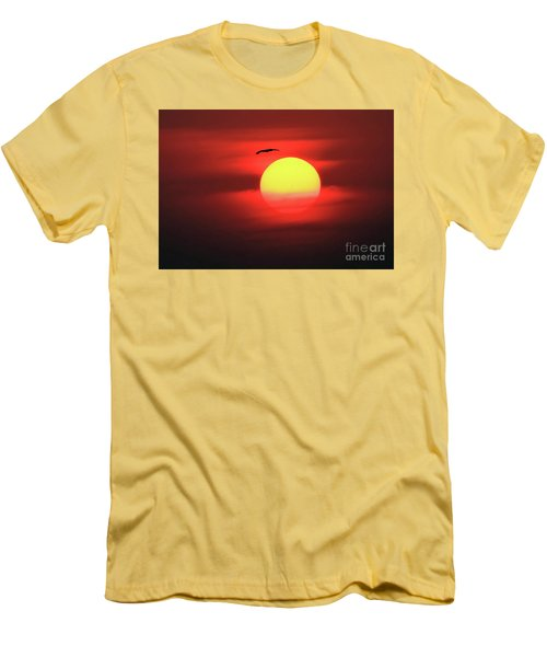 Flight To The Sun Men's T-Shirt (Athletic Fit)