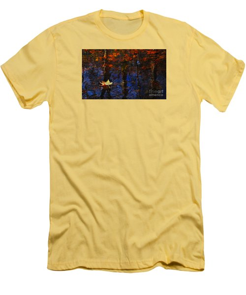 Floating In Fall Men's T-Shirt (Athletic Fit)