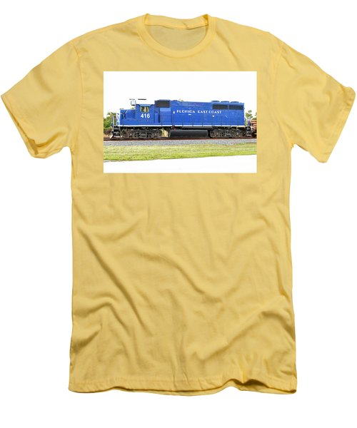 Floirda East Coast Engine Men's T-Shirt (Athletic Fit)
