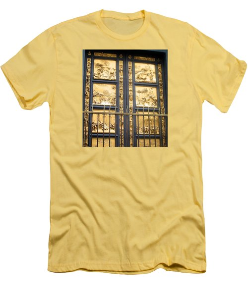 Florence Baptistry Doors Men's T-Shirt (Slim Fit) by Lisa Boyd