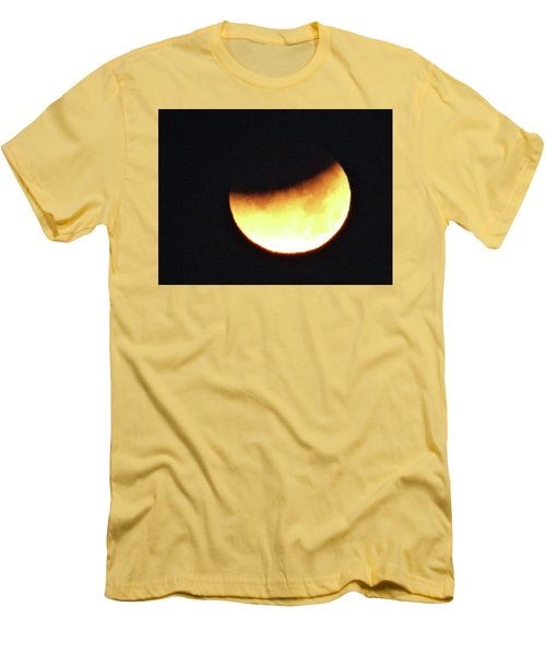 Florida Lunar Moon Eclipse 2018  Men's T-Shirt (Athletic Fit)