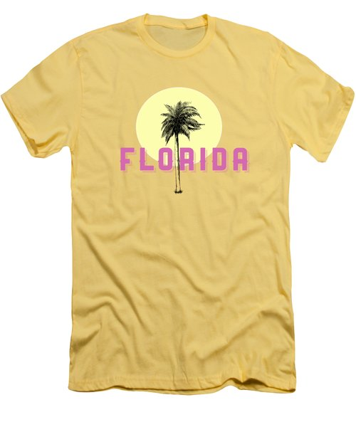 Men's T-Shirt (Slim Fit) featuring the photograph Florida Tee by Edward Fielding