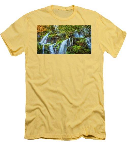 Flow Men's T-Shirt (Slim Fit) by John Poon