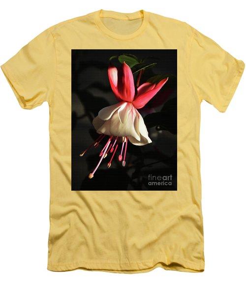 Flower 0021-a Men's T-Shirt (Athletic Fit)