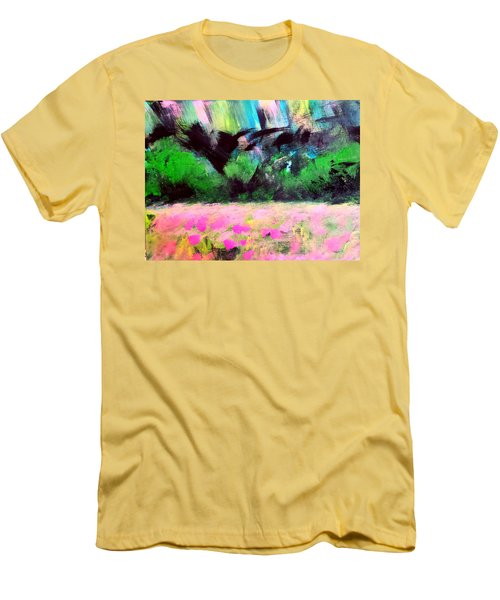 Flower Meadow Men's T-Shirt (Athletic Fit)