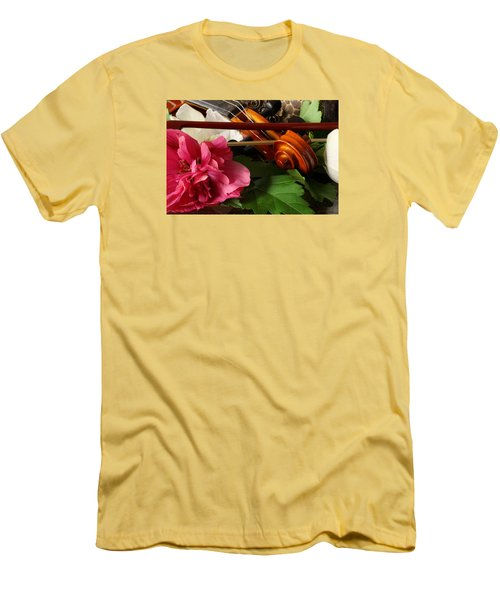 Flower Song Men's T-Shirt (Slim Fit) by Robert Och