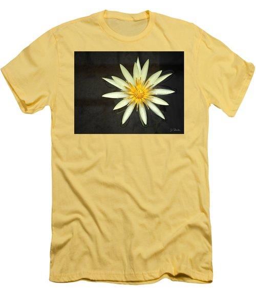 Flowerburst Men's T-Shirt (Slim Fit) by Joe Bonita