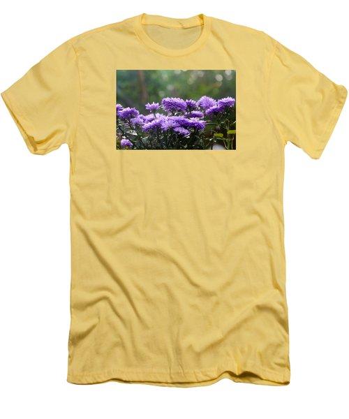Men's T-Shirt (Slim Fit) featuring the photograph Flowers Edition by Bernd Hau
