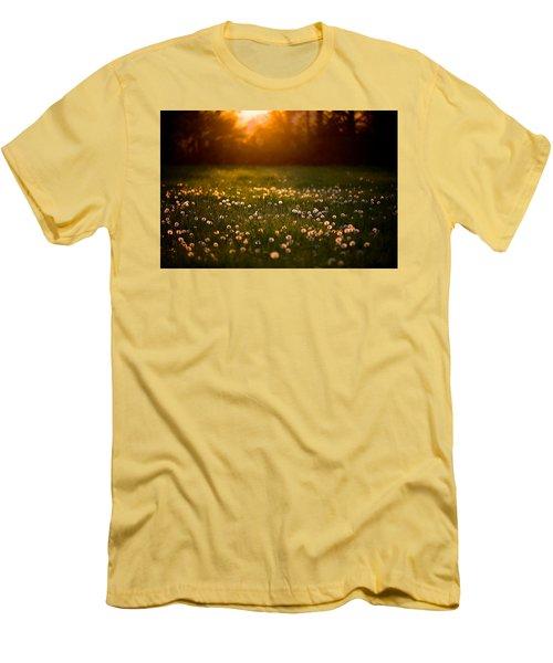 Flowers  Men's T-Shirt (Slim Fit) by Evgeny Vasenev