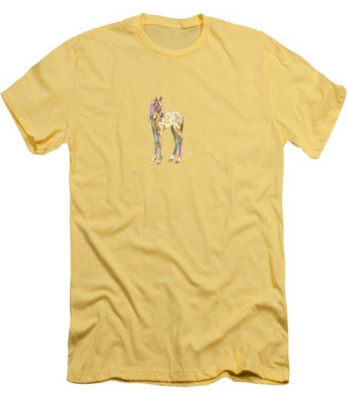 Foal Paint Men's T-Shirt (Athletic Fit)