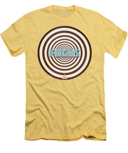 Focus Men's T-Shirt (Slim Fit) by Phil Perkins