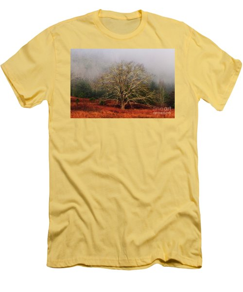 Fog Tree Men's T-Shirt (Athletic Fit)