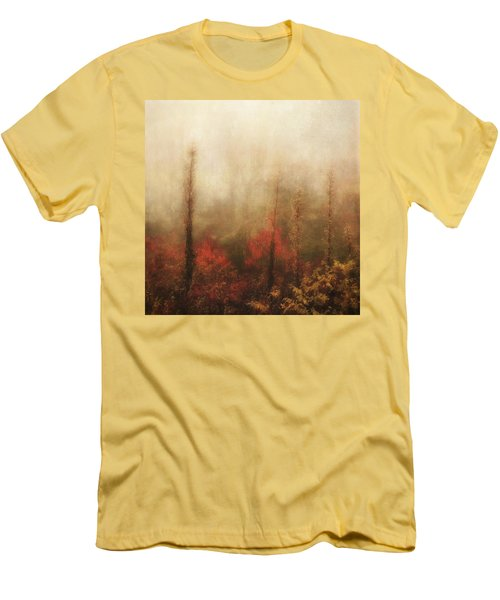 Foggy Fall On The Parkway Men's T-Shirt (Athletic Fit)