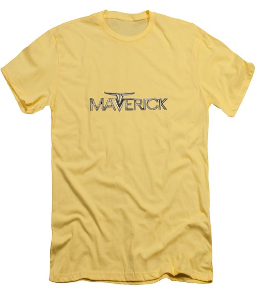 Ford Maverick Badge Men's T-Shirt (Slim Fit) by YoPedro