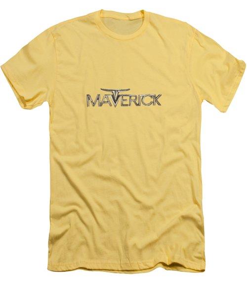 Ford Maverick Badge Men's T-Shirt (Slim Fit)