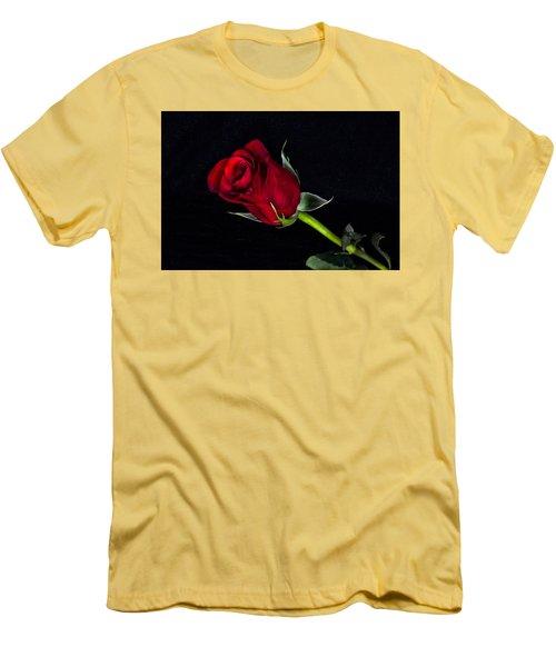 Forever Lasting Rose  Men's T-Shirt (Slim Fit) by Betty Pauwels