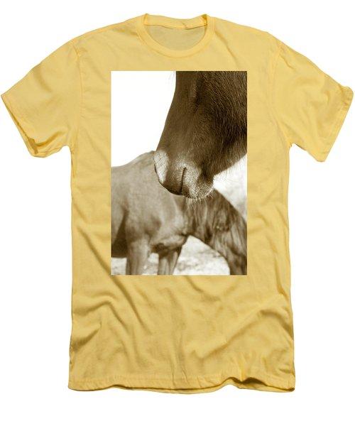 Form Of A Horse Men's T-Shirt (Slim Fit) by Toni Hopper