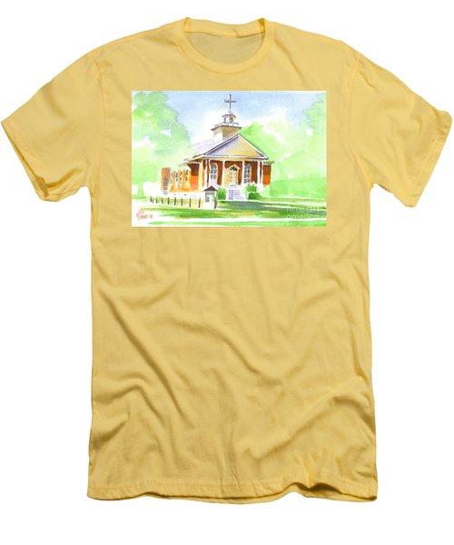 Fort Hill Methodist Church 2 Men's T-Shirt (Slim Fit) by Kip DeVore