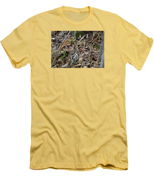 Men's T-Shirt (Slim Fit) featuring the photograph Framed Rugr by Randy Bodkins