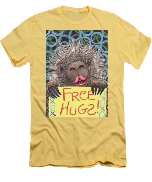 Free Hugs Men's T-Shirt (Athletic Fit)
