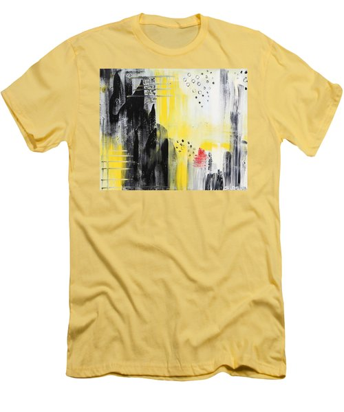Freedom Men's T-Shirt (Slim Fit) by Sladjana Lazarevic