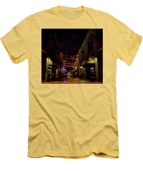 Friday Night Alley Men's T-Shirt (Athletic Fit)